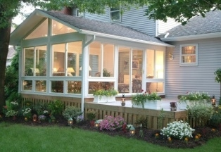 Scenic View Sunrooms Porch Enclosures