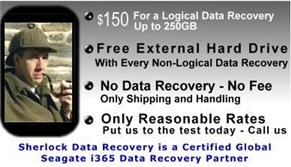 Sherlock Data Recovery Services