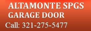 Garage Door Repair Altamonte Spgs
