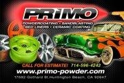 Primo Powder Coating & Sandblasting - Huntington Beach, CA