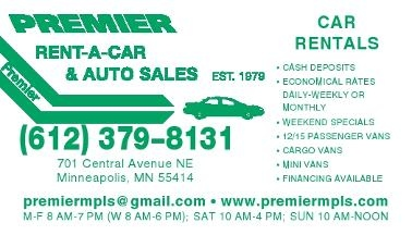 Premier Rent-A-Car & Auto Sales