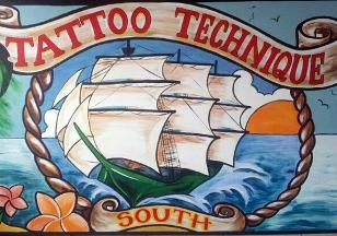 Tattoo Technique South