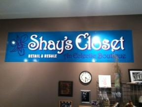 "SHAY'S CLOSET "" An Eclectic Boutique"" Retail, Resale and Consignment"