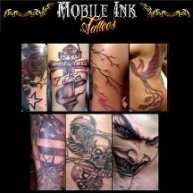 Mobile Ink Tattoos - Bronx, NY