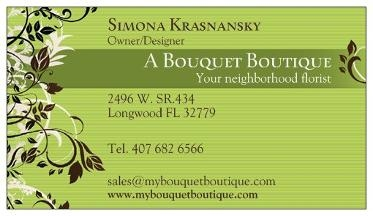 A Bouquet Boutique