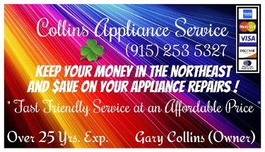 Collins Appliance Svc