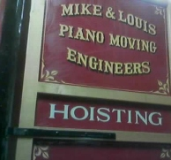 Mike & Louis Piano Moving