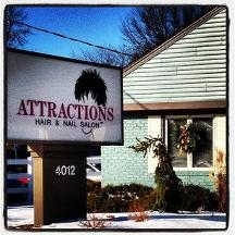attractions hair nail salon in bay city mi 48708
