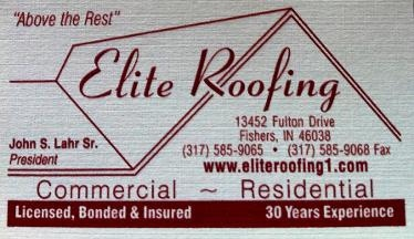 Elite Roofing - Fishers, IN