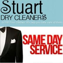 Stuart Dry Cleaners Same Day Dry Cleaning!