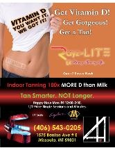 A Rayz Of Lite Tanning