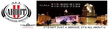 All About U Limousine Service, LLC - Raleigh, NC
