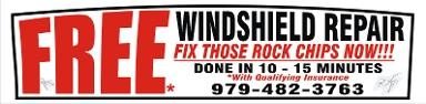 WINDSHIELD REPAIR - Mobile & Same Day Service - Clute, TX