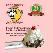 Uncle Tommy&#039;s Ice Cream Catering