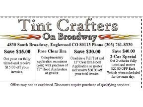 Tint Crafters On Broadway - Englewood, CO