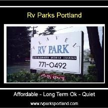 Flavel Rv Mobile Home Park In Portland OR 97266