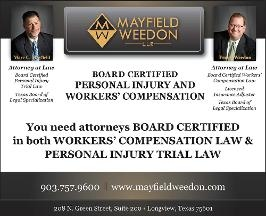 Mayfield Weedon LLP Attorney Law Firm