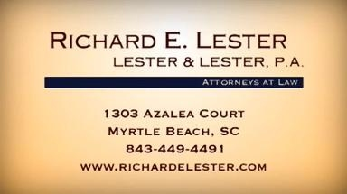 Lester & Lester P.A., Attorneys at Law - Myrtle Beach, SC