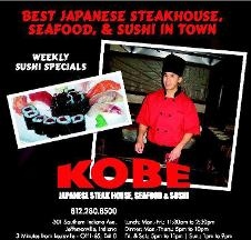 Kobe Japanese Steakhouse  Seafood & Sushi - Jeffersonville, IN