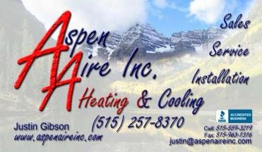 Aspen Aire Heating And Cooling - Ankeny, IA