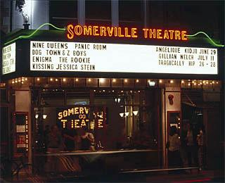 Somerville Theatre - Malden, MA