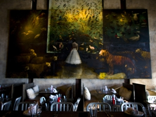 Best romantic restaurant in atlanta metro for Painting places in atlanta