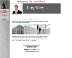 Law Office of Greg Wiley PLLC - Plano, TX