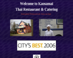 Kaosamai Thai Restaurant - Seattle, WA