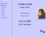 A Perfect Touch Massage Therapy - Dallas, TX