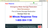 Rapid Response - Emergency Water, Fire and Smoke Damage Restoration, Mold Remediation, and Sewage Cleanup - Bourbonnais, IL