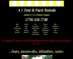 A-1 Tent & Party Rentals - Smyrna, GA