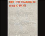 Three Little Indians Custom Knives & Cigar Shop - New York, NY