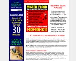 Mister Flood-Water Damage Help Sewage Cleaning Flood Damage Restoration Services - Tampa, FL