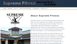 Supreme Fitness Training Ctr - Irvine, CA