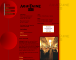 Aquitaine - Chestnut Hill, MA