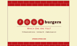 Four Burgers - Cambridge, MA