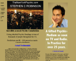 Stephen C. Robinson Psychic-Medium - New York, NY