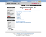 Wenger Contracting Inc - Chester Heights, PA