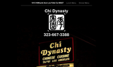 Chi Dynasty - Los Angeles, CA