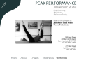 Peak Performance & Pilates - San Francisco, CA