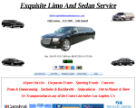 Exquisite Limo and Sedan Service - Inglewood, CA
