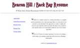 Beacon Resume - Boston, MA