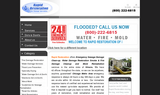 Rapid Restoration- Emergency Sewage Damage Clean-up, Water Damage Restoration - Mazon, IL