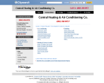 Central Heating & Air Conditioning Co. - Cleveland, OH