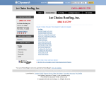 First Choice Roofing - Hudson, FL