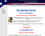 All American Movers - Lawrenceville, GA