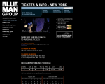 Blue Man Group - New York, NY