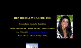Wilmore, Heather M. DDS Dentist office - Houston, TX