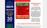 Mister Flood-Water Damage Help Sewage Cleaning Flood Damage Restoration Services - San Jose, CA