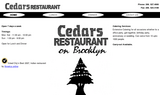 Cedars Restaurant On Brooklyn - Seattle, WA